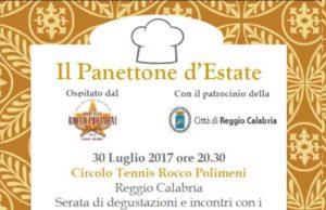 """Il Pangoji, panettone al Goji Italiano presente all'evento nazionale """"Il panettone d'estate"""" Reggio Calabria domenica 30 luglio"""