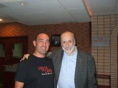 Antonello Monardo incontra Carlo Petrini, presidente internazionale Sloow Food