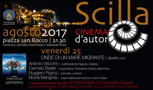 Scilla cinema d'autore da venerdì 25 a domenica 27 agosto 2017