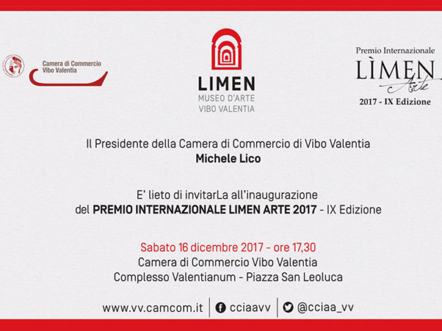 La camera di commercio rinnova l'appuntamento con il premio internazionale Limen Arte. Sabato l'inaugurazione della nona edizione.