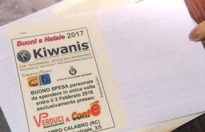 Il Club Kiwanis aiuta le famiglie bisognose|Eccellenze Calabresi| News