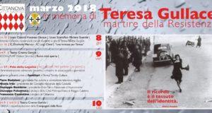 """Cittanova, rinviate al 6 e 7 aprile le iniziative in memoria di Teresa Gullace tra cui """"Una mimosa per Teresa""""."""