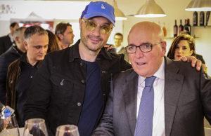 Oliverio e Bastianich allo stand della Regione Calabria a Vinitaly 2018