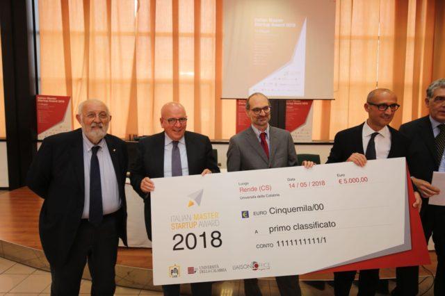 OLIVERIO HA CONCLUSO I LAVORI DEL PREMIO ITALIAN MASTER STARTUP AWARD