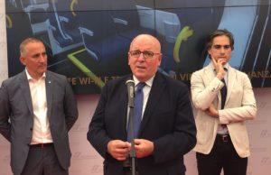 """Oliverio a Reggio per presentazione del nuovo treno regionale """"Pop"""""""