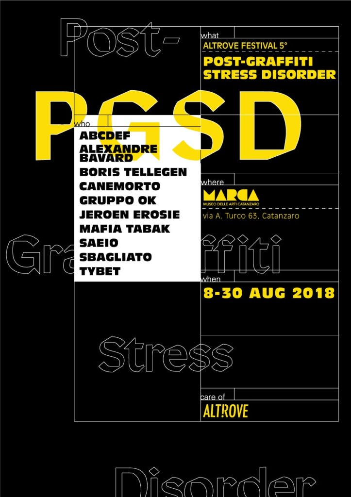 Post-Graffiti Stress Disorder Locandina