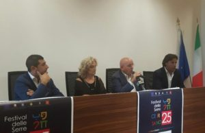 Festival delle Serre di Cerisano: presentata la 25° edizione in programma dal 2 all' 8 Settembre
