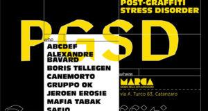Pgsd Post-Graffiti Stress Disorder:La grande mostra sul fenomeno Post-Graffiti a cura di Altrove al Museo Marca 9 - 30 agosto 2018.