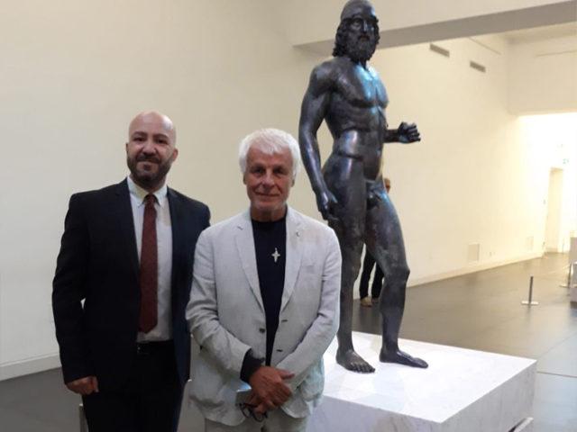 Direttore Malacrino con Michele Placido
