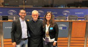 Il vino Greco di Bianco Passito doc del produttore Caridi di RC al Parlamento Europeo