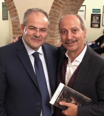 Michele Affidato e Carmine Abate