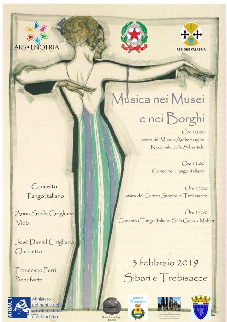 Locandina Musica e Musei nei Borghi
