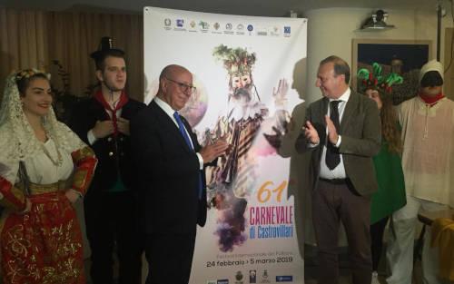 Presentazione manifesto 61°edizione di carnevale di Castrovillari