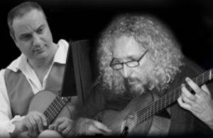 I musicisti: Romolo Calandruccio e Antonio Aprile