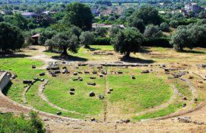 Teatro del museo archeologico di Locri