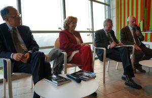 Da sx: Rocco Guglielmo, Maria Francesca, Corigliano, Mario Caligiuri, Ferrari