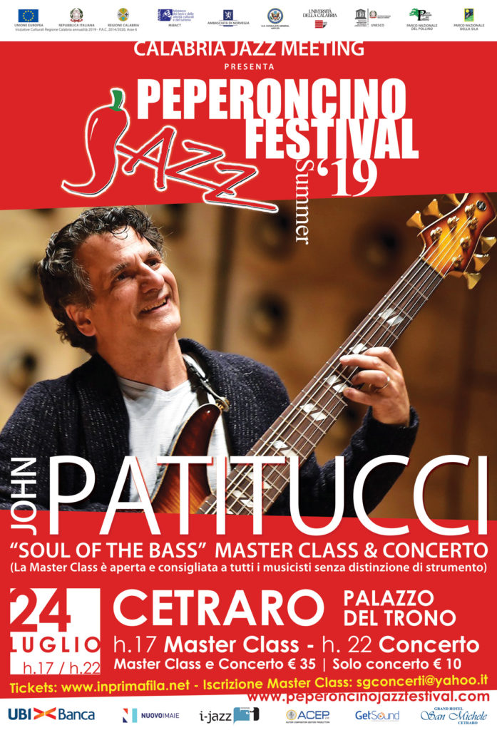 locandina 24 Luglio XVIII Peperoncino Jazz Festival