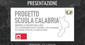 Progetto Scuola Calabria: la presentazione martedì 30 Luglio a Catanzaro presso la Regione Calabria