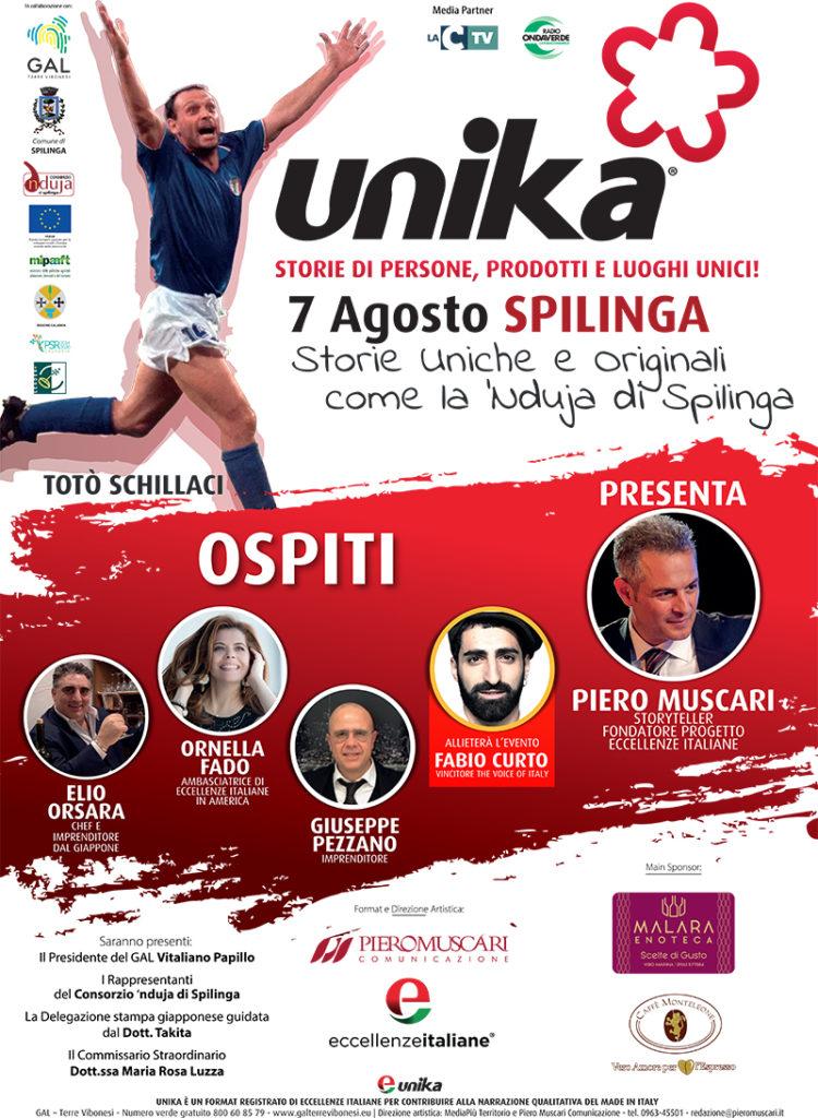 storie di persone, prodotti e luoghi unici: il 7 Agosto a Spilinga con Totò Schillaci