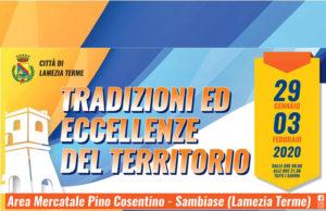 Tradizioni ed eccellenze del Territorio: dal 29 gennaio al 3 febbraio