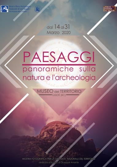 Paesaggi: panoramiche sulla natura e sull'archeologia Locandina